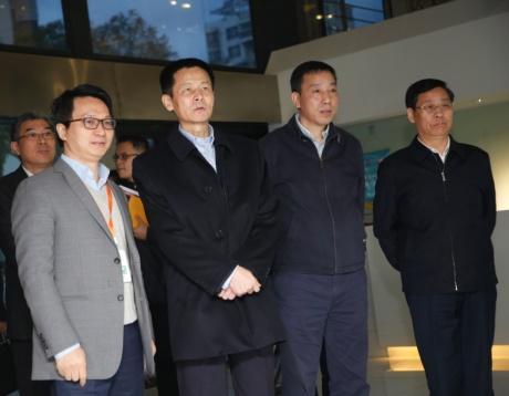 上海市副市長吳清赴高頓集團調研
