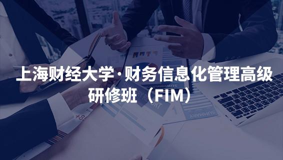 財務經理培訓課程 上海財經大學·財務信息化管理高級研修班(FIM)