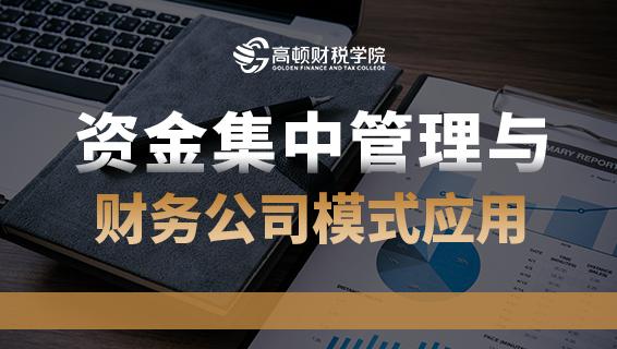 资金集中管理与财务公司模式应用