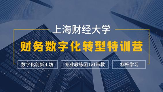 財務經理培訓課程 上海財經大學財務數字化轉型特訓營