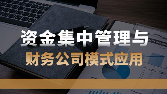財務經理培訓課程-資金集中管理與財務公司模式應用