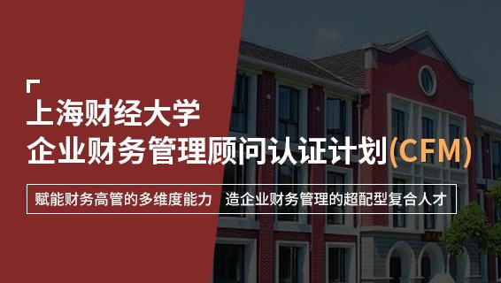 財務經理培訓課程-上海財經大學·企業財務管理顧問認證計劃(CFM)
